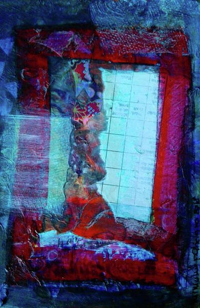 Mixed Media - Red Window by Mimulux patricia No