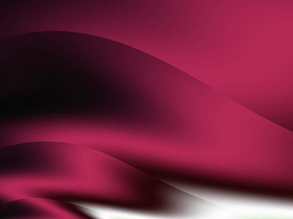 Wall Art - Digital Art - Red Wine Curve by Rich Leighton