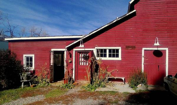 Wall Art - Photograph - Red Barn Shed by Alida M Haslett