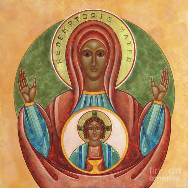Wall Art - Painting - Redemptoris Mater by Jodi Simmons