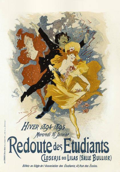 Painting - Redoute Des Etudiants Vintage French Advertising by Vintage French Advertising