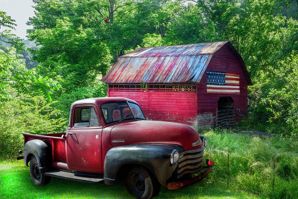 Wall Art - Photograph - Reds In The Country by Debra and Dave Vanderlaan
