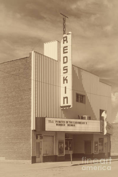 Photograph - Redskin Theater by Imagery by Charly