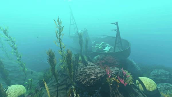 Digital Art - Reef Scene 1 by Duane McCullough