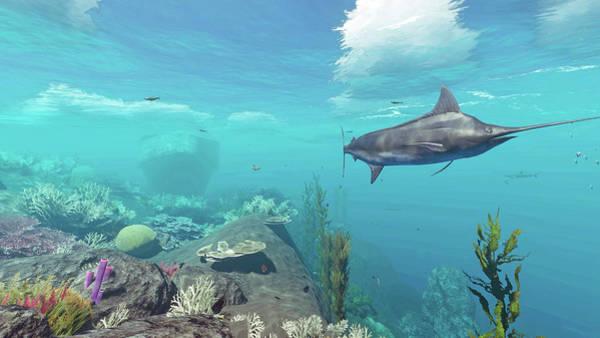 Digital Art - Reef Scene 5 by Duane McCullough