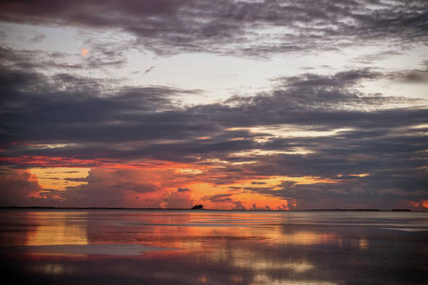 Photograph - Reflected Sunset by Joe Leone