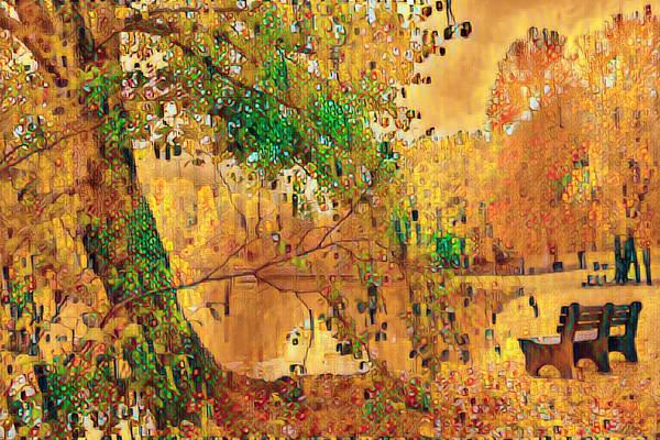 Photograph - Reflecting At The Lake Abstract Art by Debra and Dave Vanderlaan