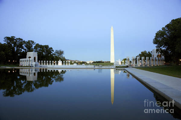 Photograph - Reflecting Pool, 2006 by Carol Highsmith