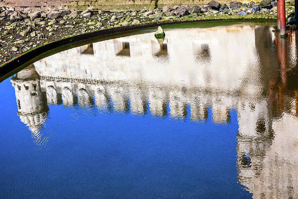 Wall Art - Photograph - Reflection Belem Tower (torre De Belem by William Perry