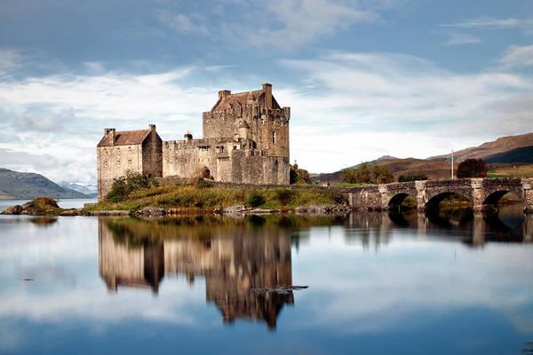 Wall Art - Photograph - Reflection Of Eilean Donan Castle by Matt Burke 2012