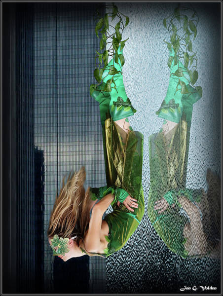 Photograph - Reflection Of Ivy by Jon Volden