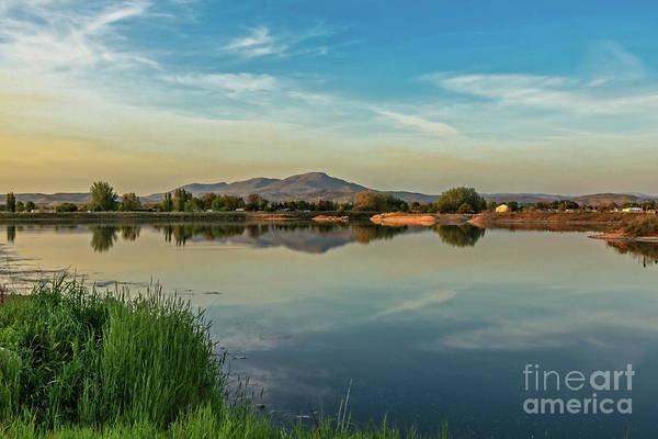 Wall Art - Photograph - Reflection Of Squaw Butte by Robert Bales