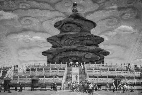 Photograph - Reflection Of Temple Of Heaven  by Iryna Liveoak