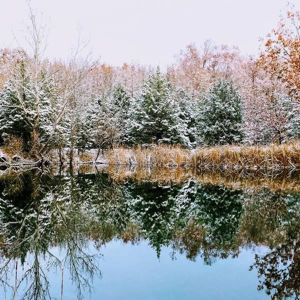 Wall Art - Photograph - Reflection Of Winter by Hyuntae Kim