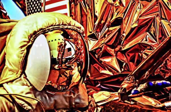 Photograph - Reflection On A Space Helmet by Bill Jonscher