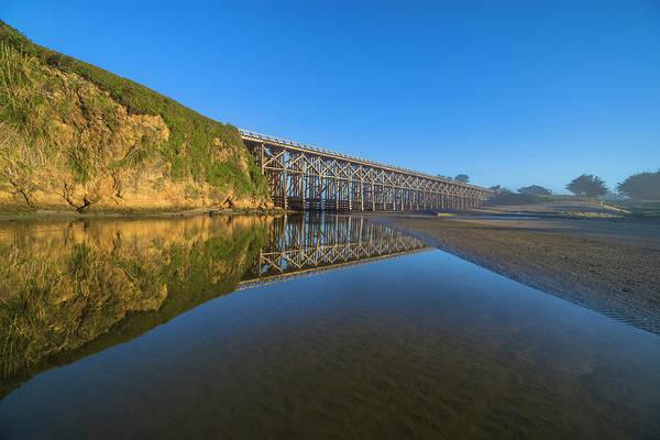 Photograph - Reflections At Pudding Creek by Jonathan Hansen