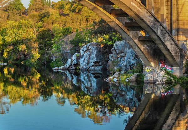 Photograph - Reflections At Rainbow Bridge by Jonathan Hansen