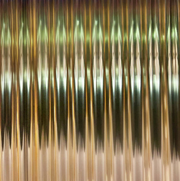 Photograph - Reflections In Aluminum 2 by Marilyn Hunt