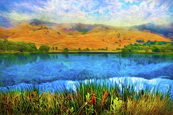 Digital Art - Reflections In Grace by Joel Bruce Wallach