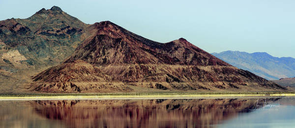 Photograph - Reflections In The Great Salt Lake by Jim Thompson