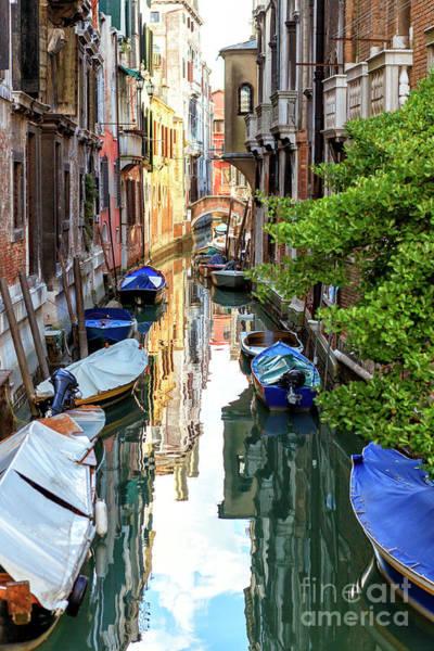 Photograph - Reflections In Venezia by John Rizzuto
