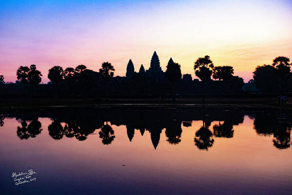 Wall Art - Photograph - Reflections Of Angkor Wat - Siem Reap, Cambodia by Madeline Ellis