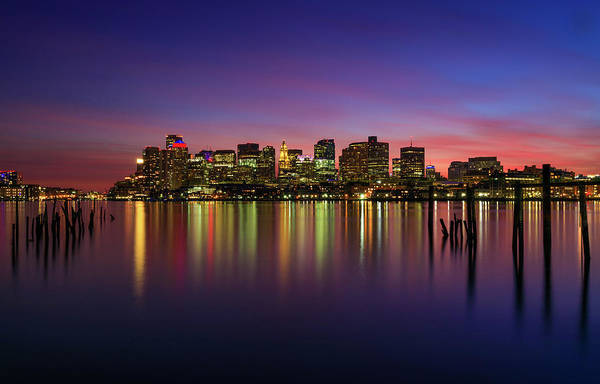 Reflections Of Boston II Art Print