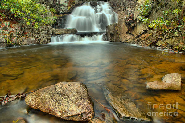 Photograph - Reflections Of Hawk Falls by Adam Jewell