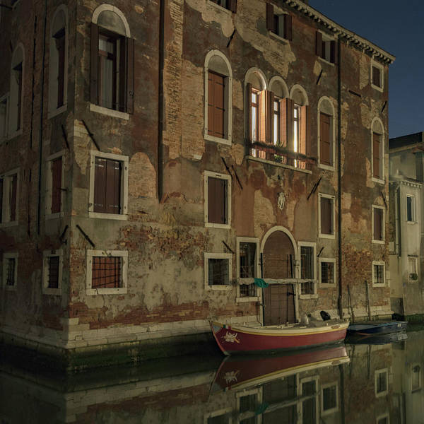 Photograph - Reflections Of Italy by Laura Hedien