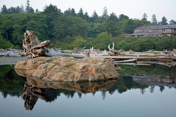 Photograph - Reflections Of Kalaloch Lodge In Olympic National Park by Bruce Gourley