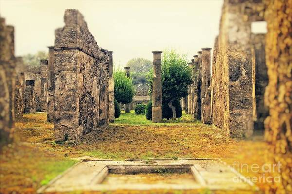 Wall Art - Photograph - Reflections Of Long Ago - Pompeii by Mary Machare