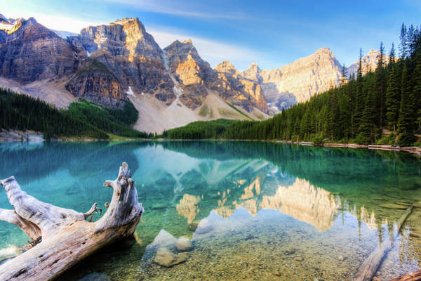 Wall Art - Photograph - Reflections Of Moraine Lake by Matthew Crowley Photography