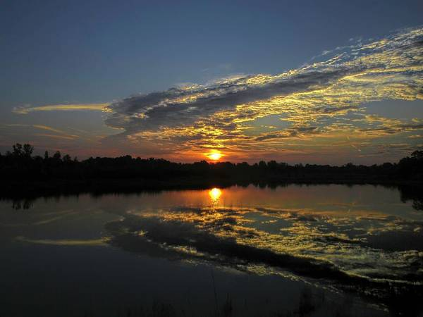 Photograph - Reflections Of The Passing Day by Jack Wilson