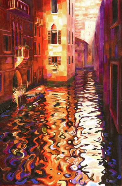 Painting - Reflections Of Venice by Rob Buntin
