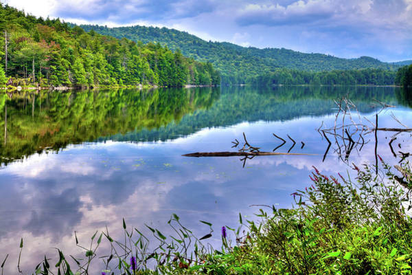 Photograph - Reflections On Sis Lake by David Patterson