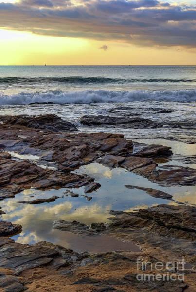 Photograph - Reflections On The Rocks by Eddie Yerkish