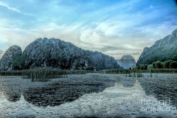 Wall Art - Photograph - Reflections Reserve Nature Vietnam Van Long Stunning  by Chuck Kuhn