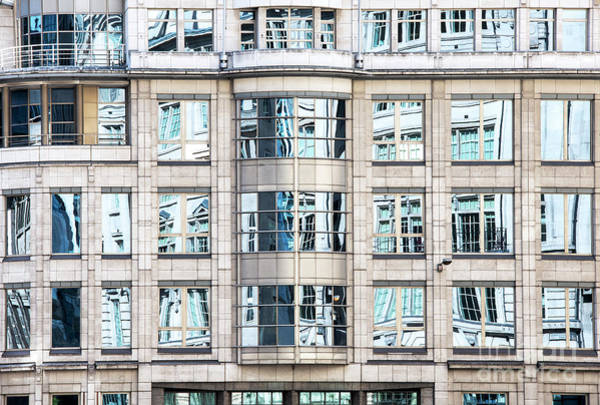 Photograph - Reflective Windows by Tim Gainey