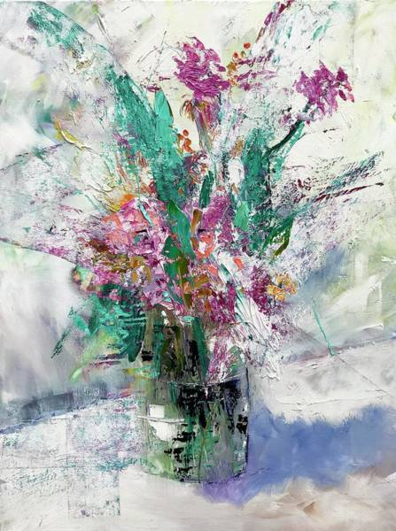 Wall Art - Painting - Refracted Spring  by Julia S Powell