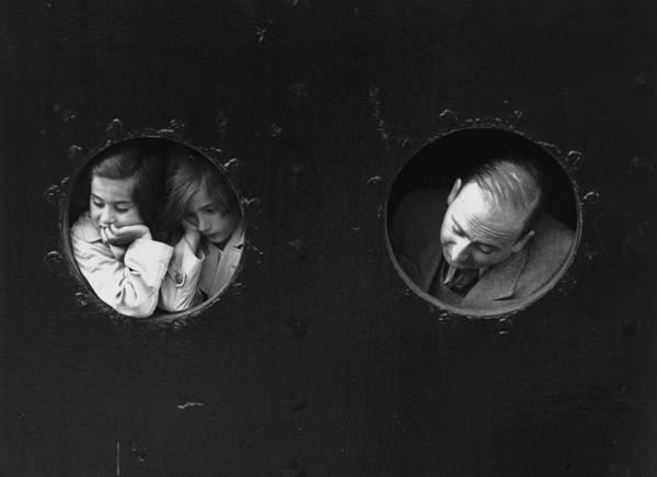 Belgium Photograph - Refugees At Portholes by Gerry Cranham