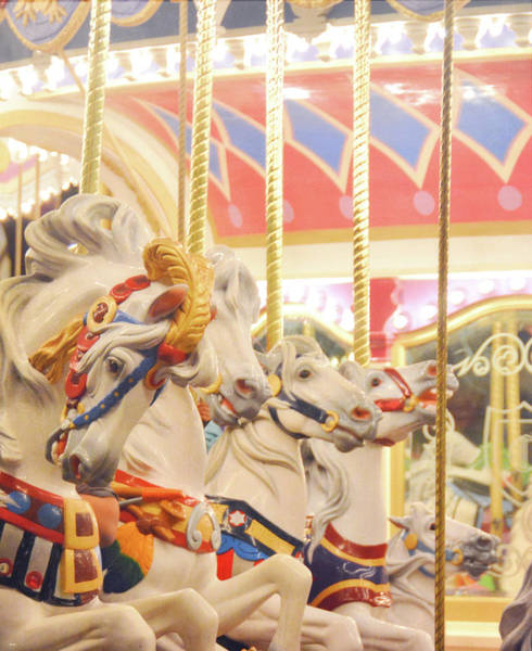 Photograph - Regal Carrousel by Jamart Photography