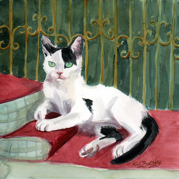 Painting - Regal Deano by Mimi Boothby