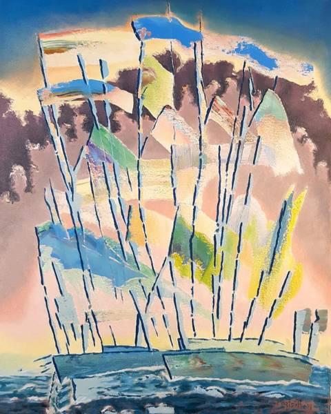 Painting - Regatta by Dave Martsolf