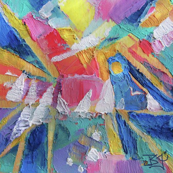 Painting - Regatta by Jean Batzell Fitzgerald