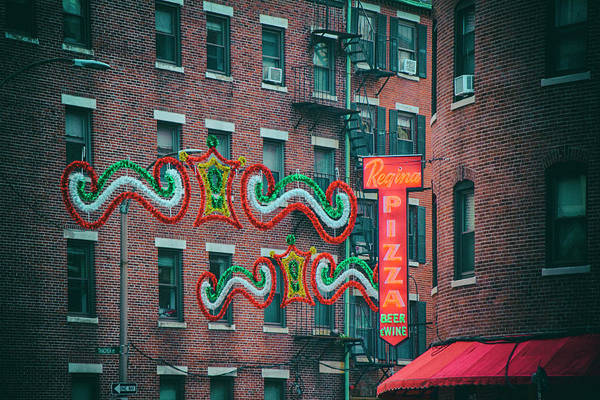 Photograph - Regina Pizza - The North End by Joann Vitali