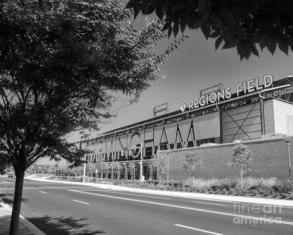 Photograph - Regions Field Home Of The Barons by Ken Johnson