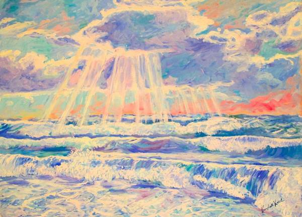 Painting - Rehoboth Light by Kendall Kessler