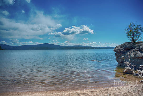 Photograph - Relax By The Water Of Lake Cda by Matthew Nelson