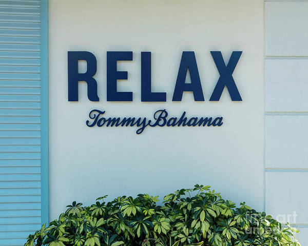 Photograph - Relax Tommy Bahama by Brian Jannsen