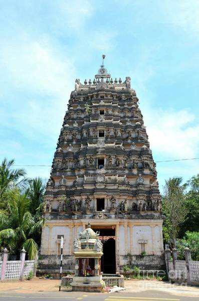 Photograph - Remains Of Gopuram Pagoda Of Maviddapuram Kandaswamy Hindu Temple Jaffna Peninsula Sri Lanka by Imran Ahmed